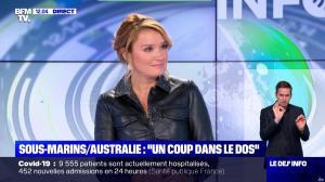 Pascale De La Tour Du Pin dans le Dej Info - 16/09/21 - 07