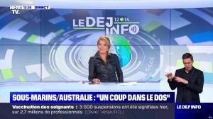 Pascale De La Tour Du Pin dans le Dej Info - 16/09/21 - 08