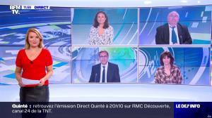 Pascale De La Tour Du Pin dans le Dej Info - 17/09/21 - 02