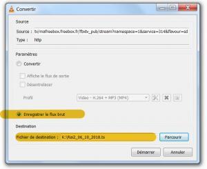 ext - enregistrer la freebox avec vlc - 5
