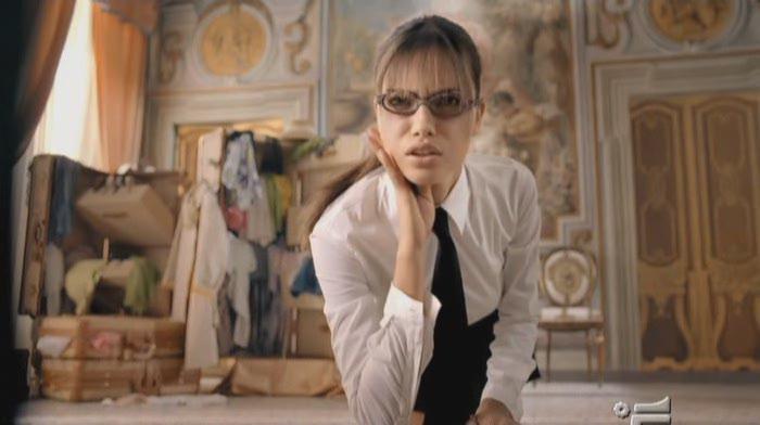 Adriana Lima dans Pub change. Diffusé à la télévision le 27/02/05.