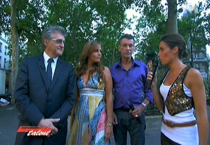 Alessandra Sublet dans Incroyable Talent. Diffusé à la télévision le 02/10/08.