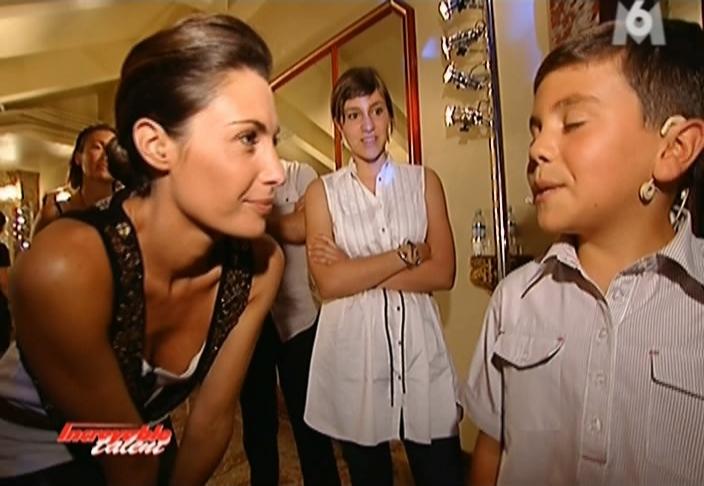 Alessandra Sublet et Incroyable Talent dans Req. Diffusé à la télévision le 02/10/08.
