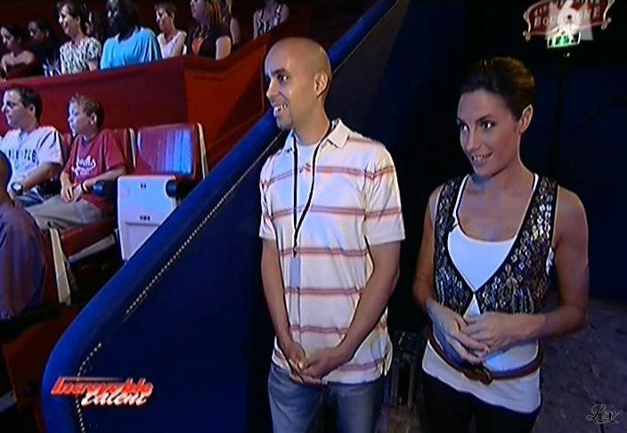 Alessandra Sublet dans Incroyable Talent. Diffusé à la télévision le 09/10/08.