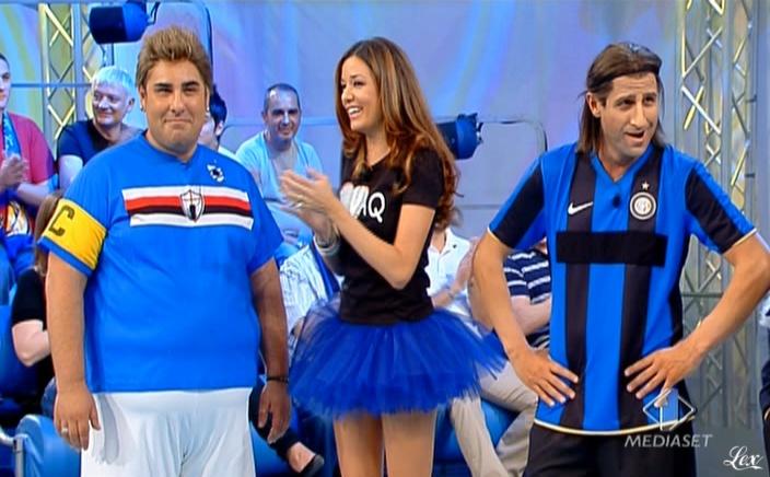 Alessia Fabiani dans Guida Al Campionato. Diffusé à la télévision le 17/05/09.