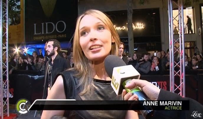 Anne Marivin dans C à Vous. Diffusé à la télévision le 19/10/10.