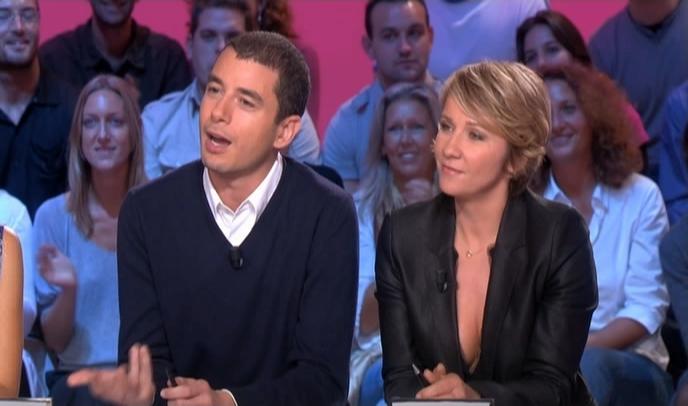Ariane Massenet dans le Grand Journal De Canal Plus. Diffusé à la télévision le 06/10/08.