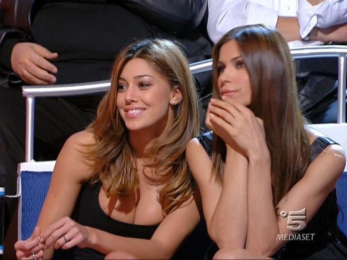 Belen Rodriguez dans Buona Domenica. Diffusé à la télévision le 18/11/07.