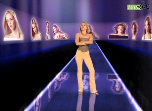 Cécile Simeone dans Top Model USA. Diffusé à la télévision le 03/12/04.