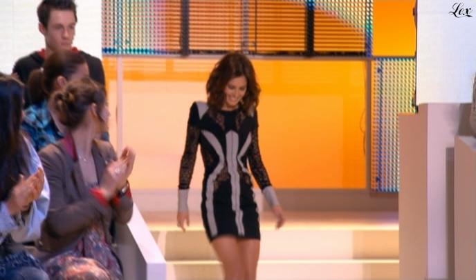Cheryl Cole dans le Grand Journal De Canal Plus. Diffusé à la télévision le 24/03/10.