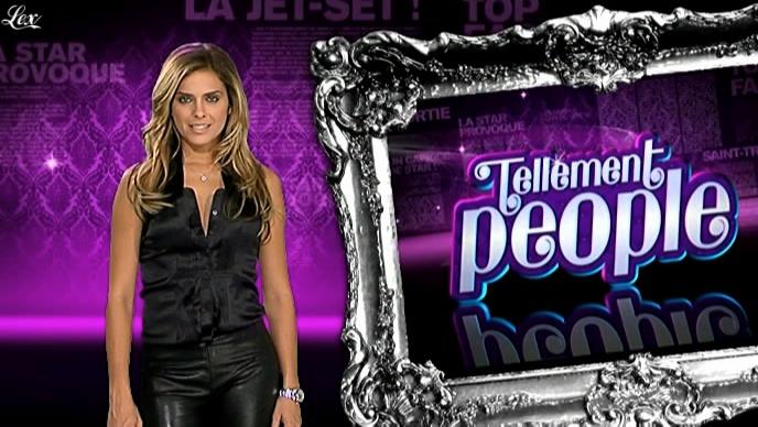 Clara Morgane dans Tellement People. Diffusé à la télévision le 30/07/09.