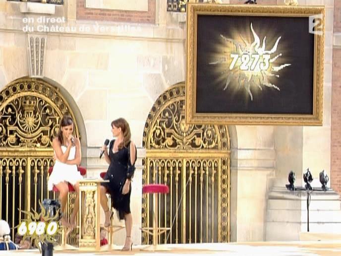 Daniela Lumbroso et Nâdiya dans la Fête De La Musique. Diffusé à la télévision le 21/06/05.