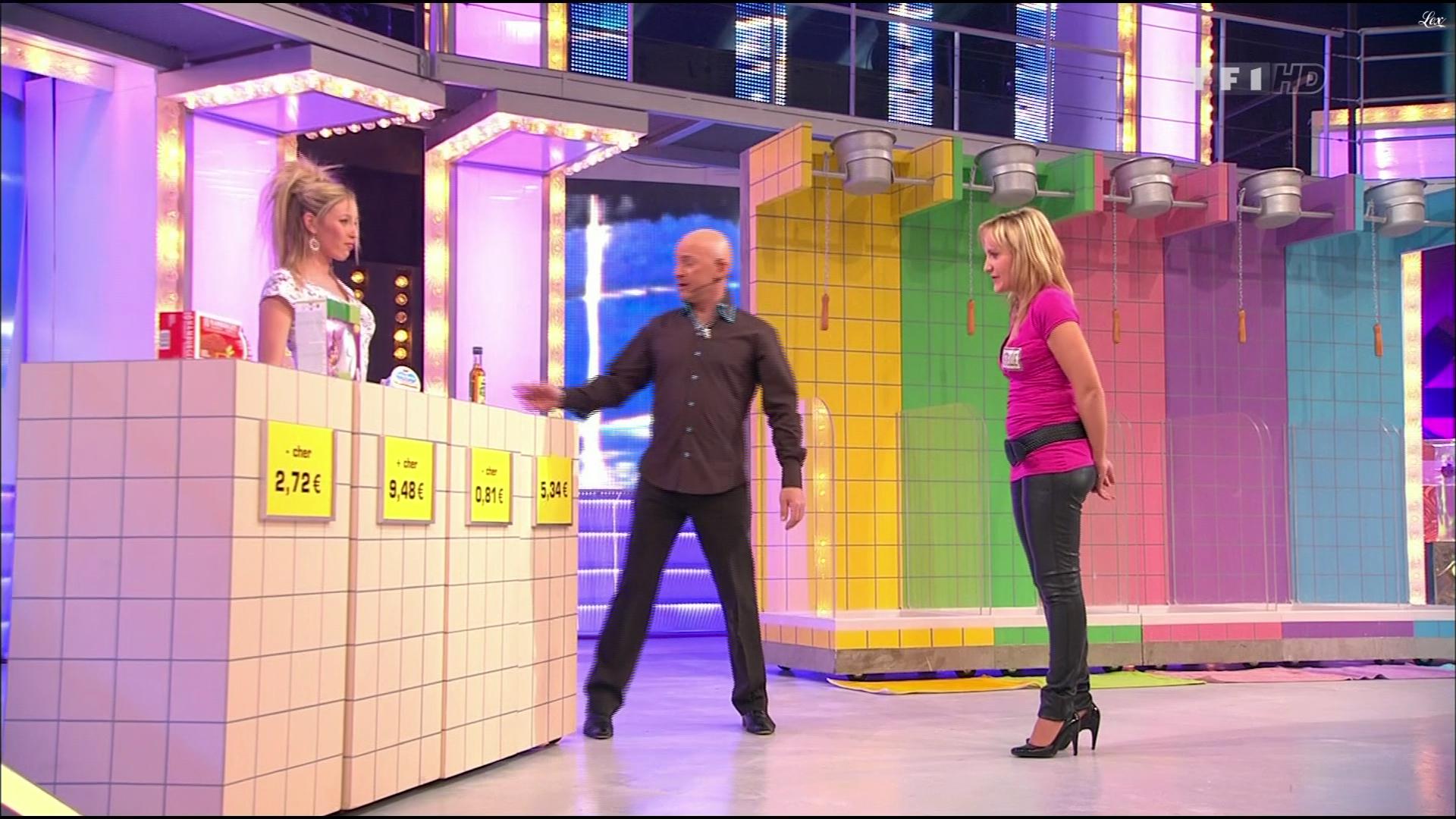 Christelle dans le Juste Prix. Diffusé à la télévision le 25/03/10.
