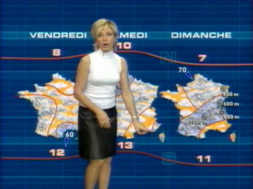 Evelyne Dhéliat - Meteo TF1 - 2