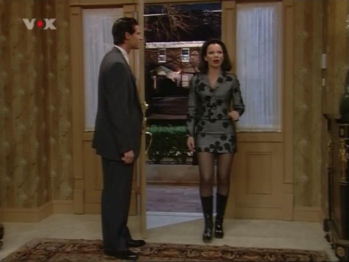 Fran Drescher dans Die Nanny. Diffusé à la télévision le 02/03/07.