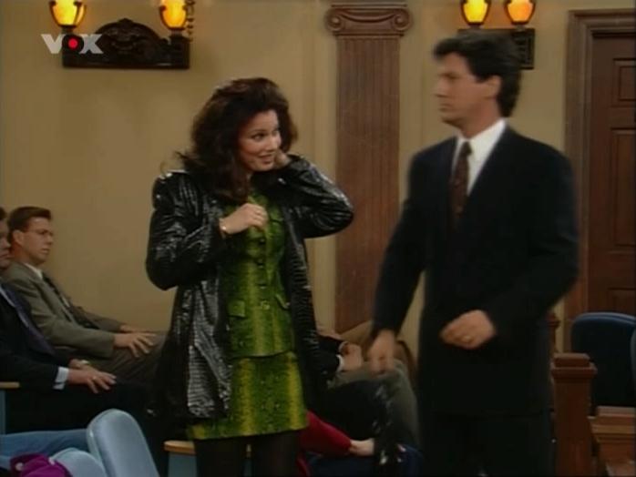 Fran Drescher dans Die Nanny. Diffusé à la télévision le 05/02/07.