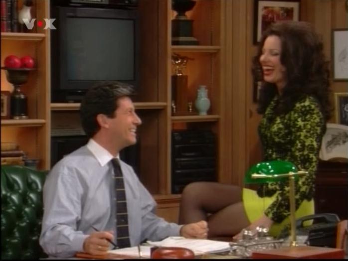 Fran Drescher dans Die Nanny. Diffusé à la télévision le 23/02/07.