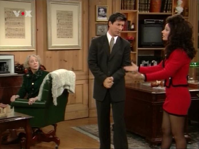 Fran Drescher dans Die Nanny. Diffusé à la télévision le 26/02/07.