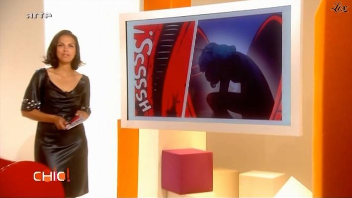 Isabelle Giordano dans Chic. Diffusé à la télévision le 06/07/09.