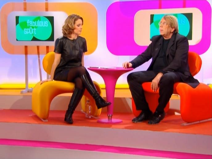 Isabelle Moreau dans Fabulous Sport. Diffusé à la télévision le 09/03/08.