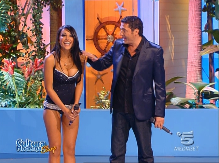 Juliana Moreira dans Cultura Moderna Slurp. Diffusé à la télévision le 14/02/07.