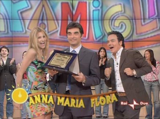 Adriana Volpe dans In Famiglia. Diffusé à la télévision le 07/05/05.