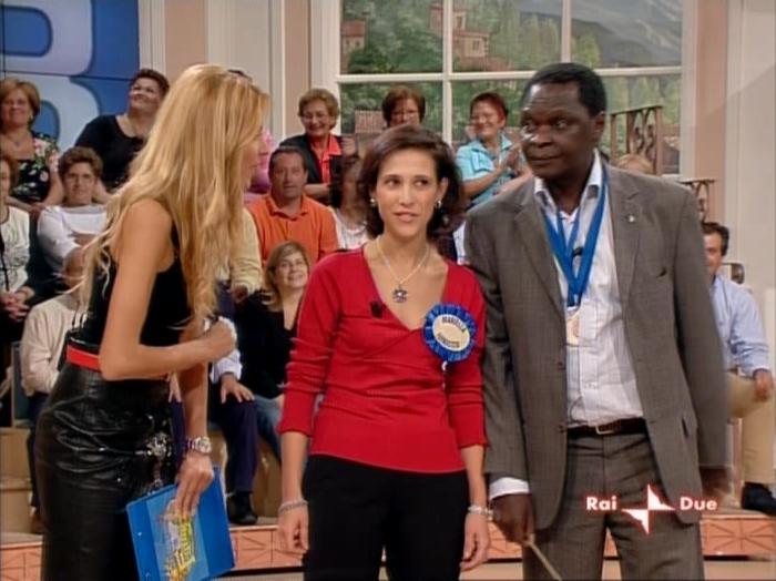 Adriana Volpe dans In Famiglia. Diffusé à la télévision le 14/10/06.