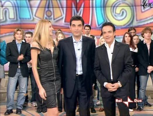 Adriana Volpe dans In Famiglia. Diffusé à la télévision le 28/11/04.