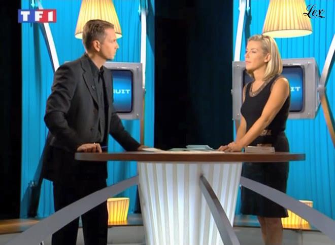 Laurence Ferrari dans 7 à 8. Diffusé à la télévision le 26/09/04.