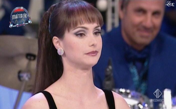 Lorena Bianchetti dans Matricole E Meteore. Diffusé à la télévision le 05/04/10.