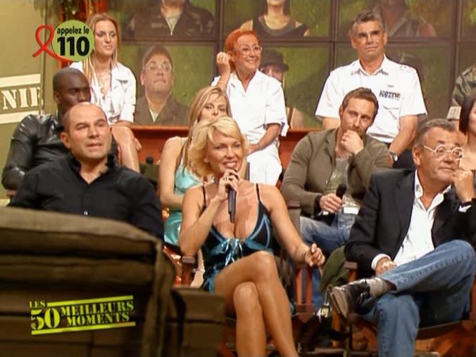 Marlène Mourreau dans Première Compagnie. Diffusé à la télévision le 01/04/05.