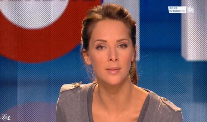 Mélissa Theuriau dans Zone Interdite. Diffusé à la télévision le 07/03/10.