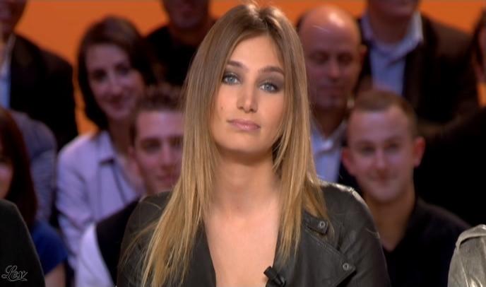 Pauline Lefèvre dans le Grand Journal De Canal Plus. Diffusé à la télévision le 26/01/09.