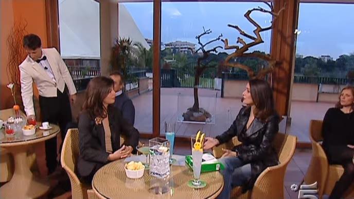 Roberta Capua dans Buona Domenica