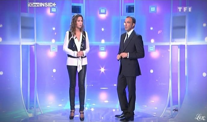 Sandrine Quétier dans 50 Minutes Inside. Diffusé à la télévision le 10/10/09.