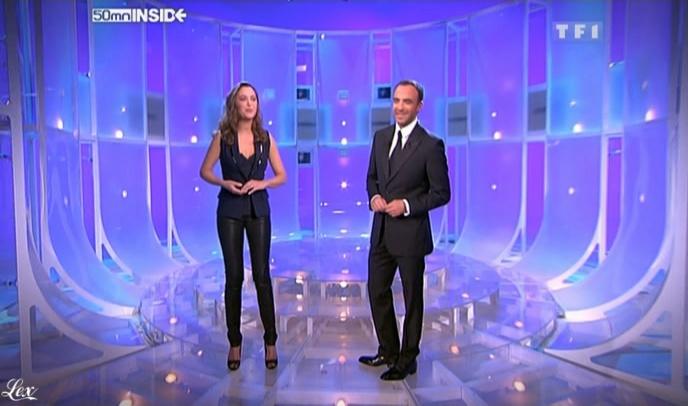 Sandrine Quétier dans 50 Minutes Inside. Diffusé à la télévision le 21/11/09.