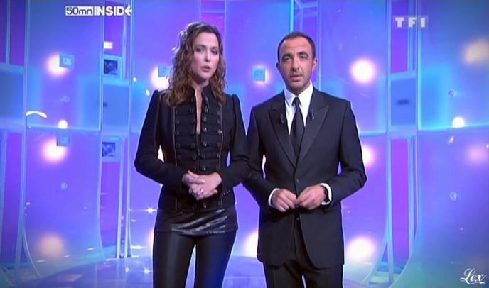 Sandrine Quétier et 50 Minutes Inside dans Rediff. Diffusé à la télévision le 21/11/09.