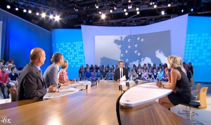 Sophie Davant dans le Grand Journal De Canal Plus. Diffusé à la télévision le 09/09/09.