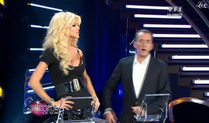 Victoria Silvstedt dans Qui Sera Le Meilleur. Diffusé à la télévision le 13/02/10.