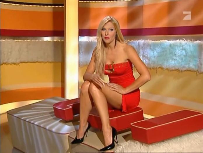 Sonya Kraus Beyonc 233 Et Pro7 Dans Matin 12 02 05 2