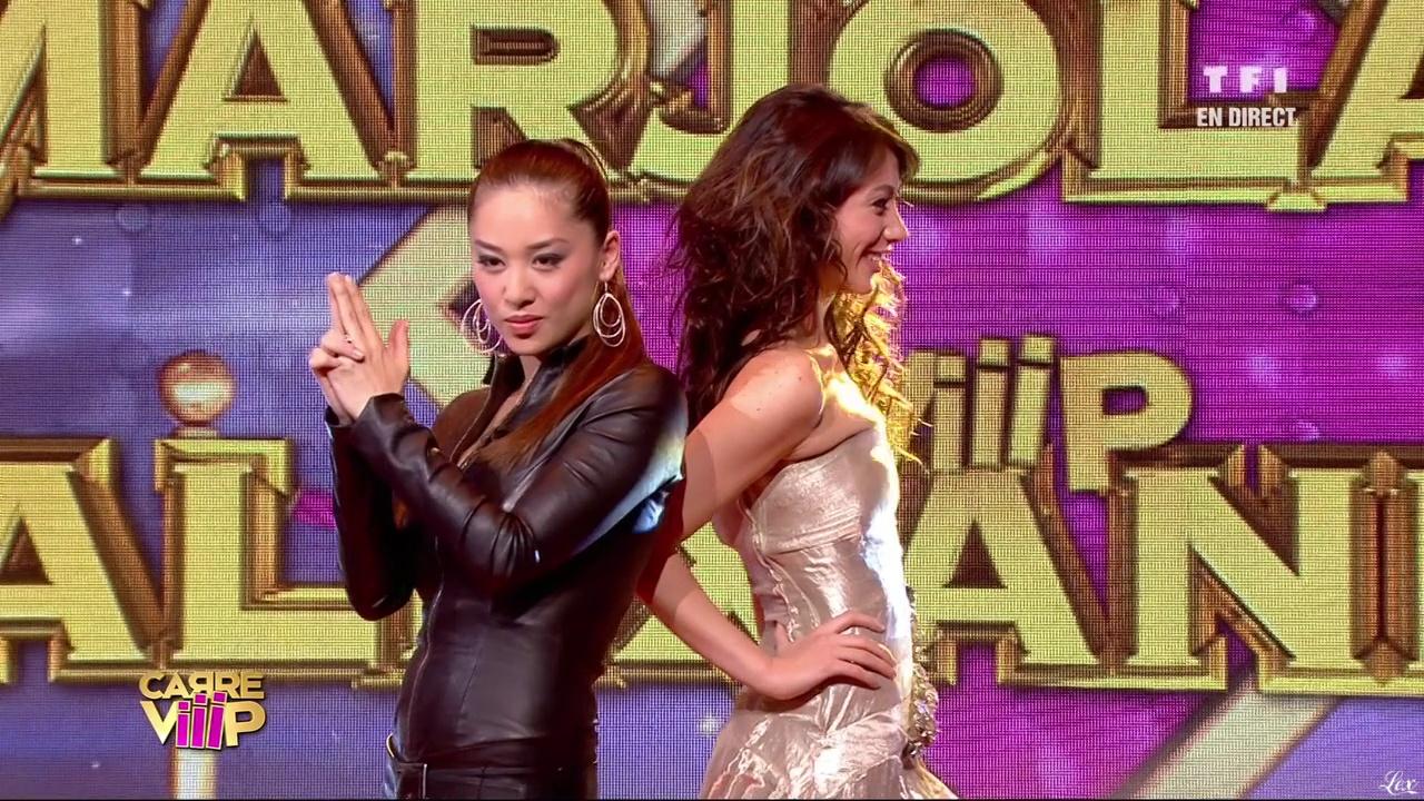 Alexandra Obolensky et Marjolaine Bui dans Carré Viiip. Diffusé à la télévision le 18/03/11.