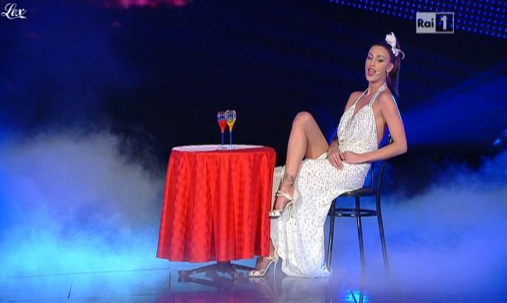 Belen Rodriguez dans San Remo. Diffusé à la télévision le 18/02/11.