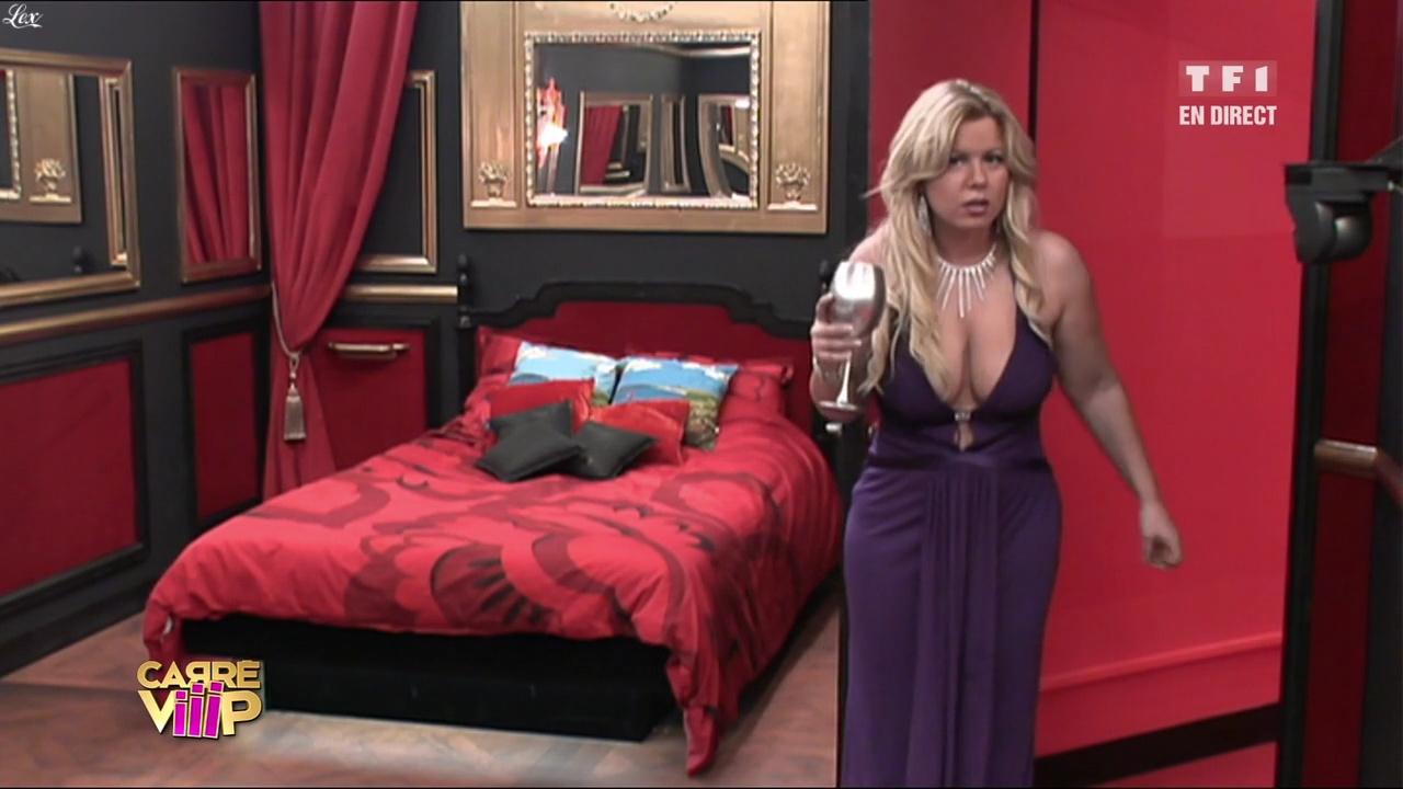 Cindy Lopes dans Carré Viiip. Diffusé à la télévision le 18/03/11.