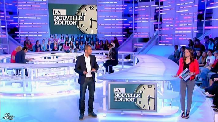 Emilie Besse dans la Nouvelle Edition. Diffusé à la télévision le 18/06/12.