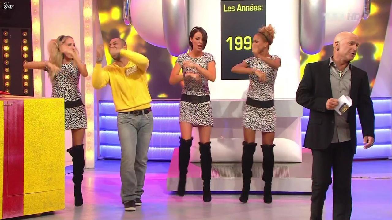 Fanny Veyrac dans le Juste Prix. Diffusé à la télévision le 01/11/11.