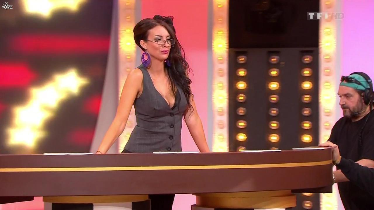 Fanny Veyrac dans le Juste Prix. Diffusé à la télévision le 25/10/11.