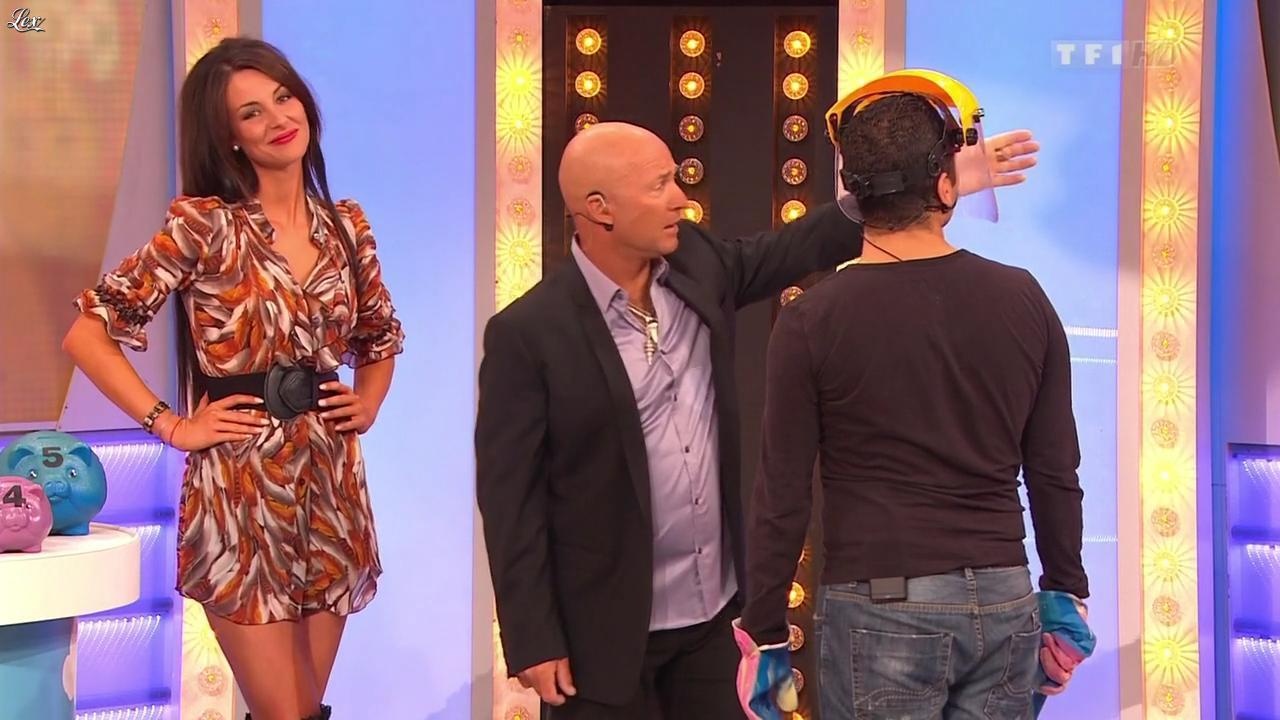 Fanny Veyrac dans le Juste Prix. Diffusé à la télévision le 28/10/11.