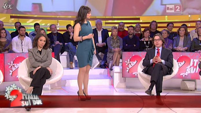 Lorena Bianchetti dans Italia Sul Due. Diffusé à la télévision le 13/12/11.
