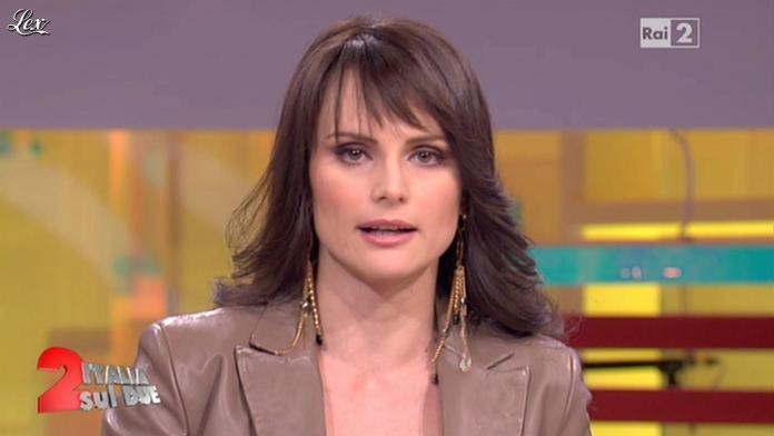 Lorena Bianchetti dans Italia Sul Due. Diffusé à la télévision le 30/01/12.