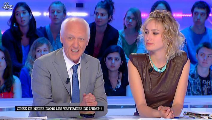 Pauline Lefèvre dans la Nouvelle Edition. Diffusé à la télévision le 21/06/12.
